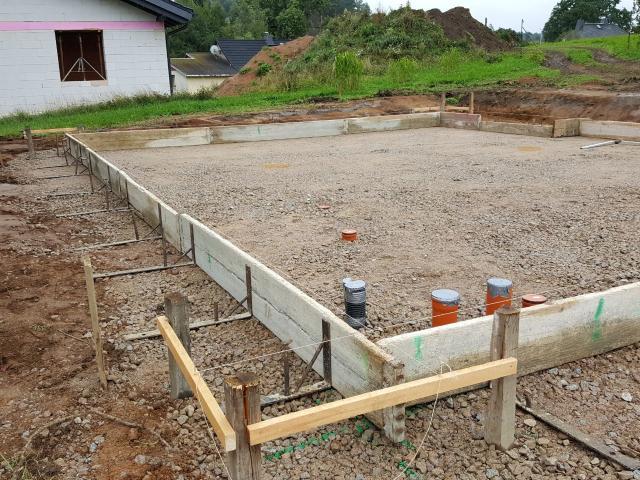 13 Und 14 09 2017 Fertigstellung Der Bodenplatte Bautagebuch Liste De