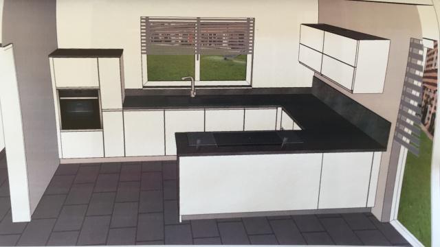 side by side kuhlschrank in kuche integrieren. Black Bedroom Furniture Sets. Home Design Ideas