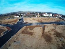 Luftbild Neubaugebiet Lehningen