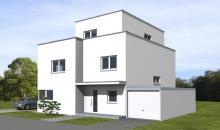 3D Ansicht unser individuell geplantes Architektenhaus