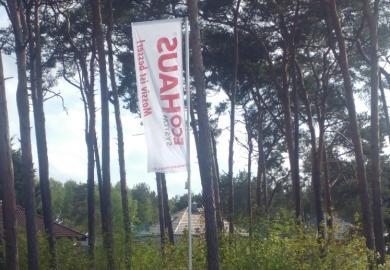 Bau von zwei Häusern in Brandenburg mit Eco System Haus